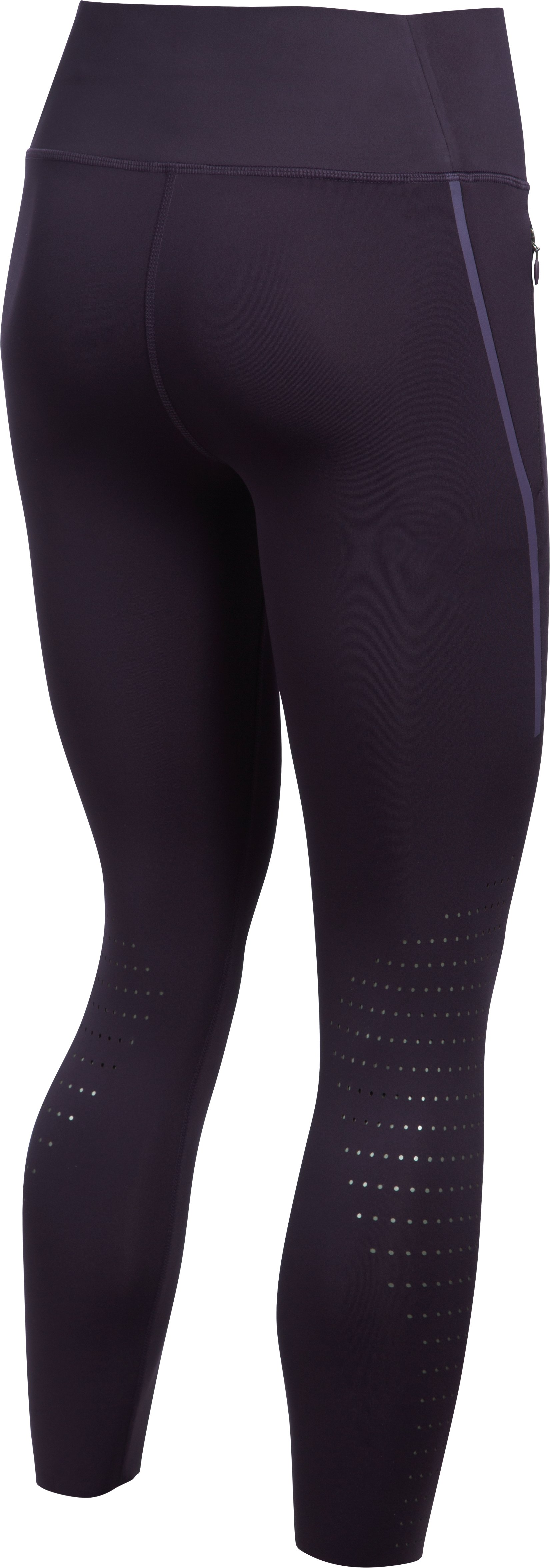 Women's UA Accelerate Engineered Crop, IMPERIAL PURPLE,