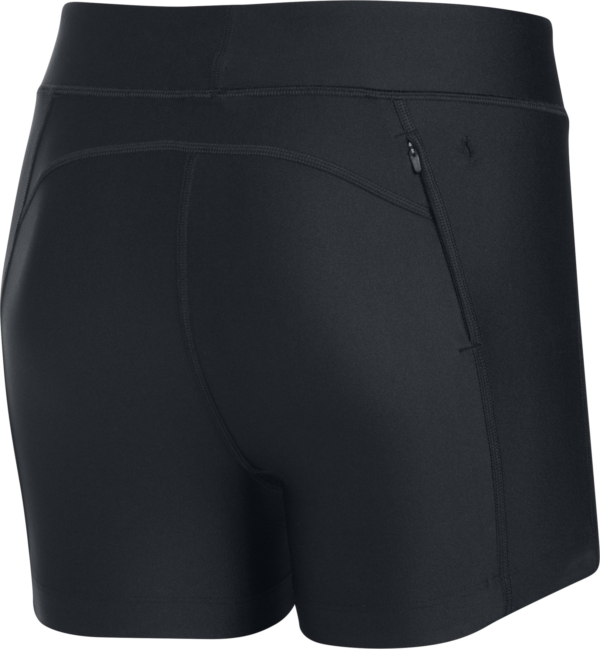 Women's UA Fly-By Compression Shorty, Black , undefined