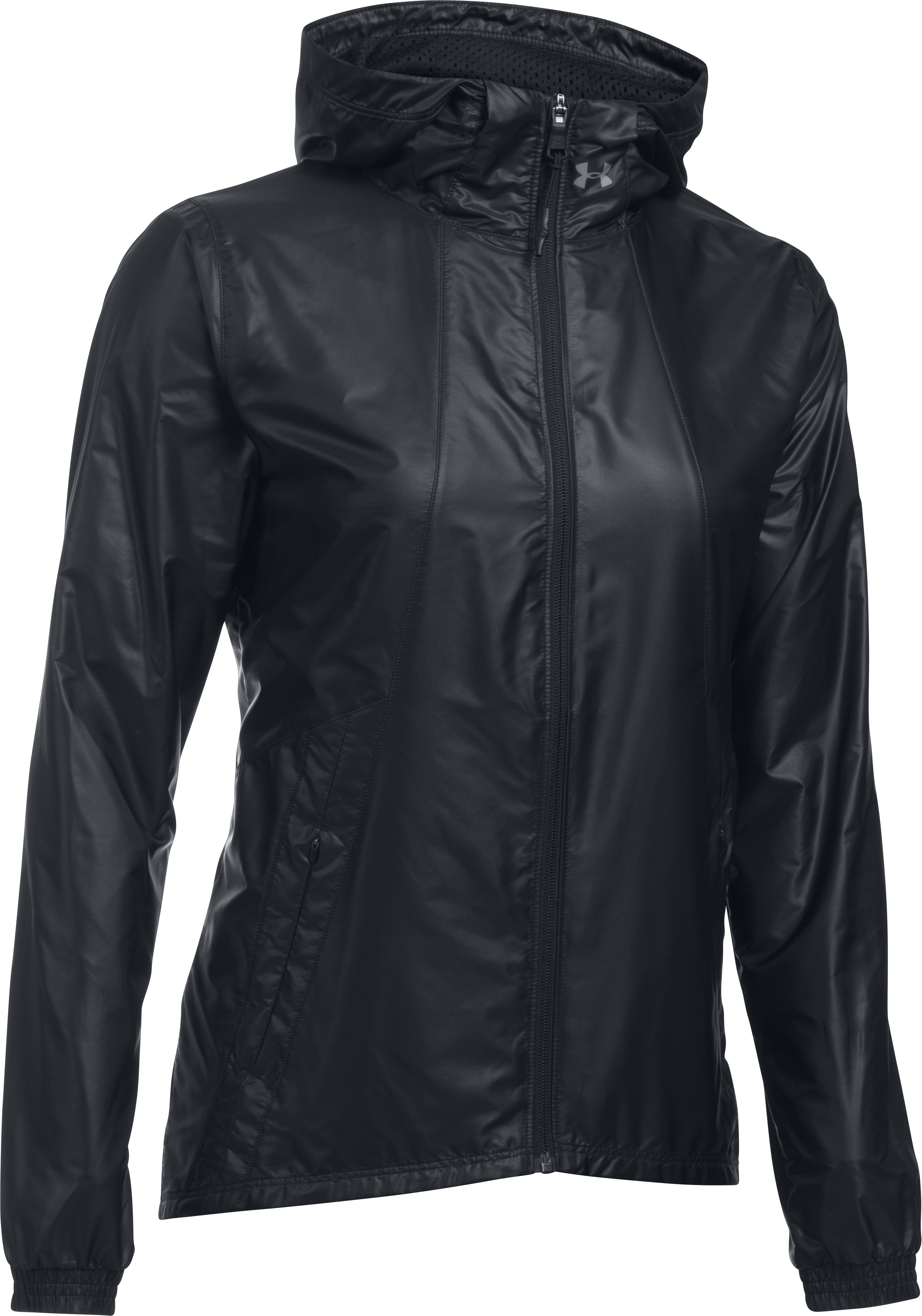 Women's UA Run True Jacket, Black