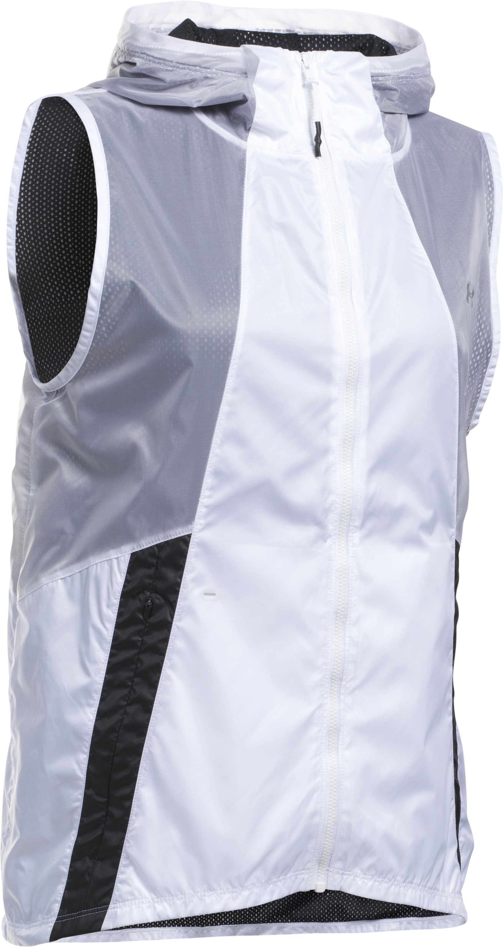 Women's UA Run True Vest, White, undefined
