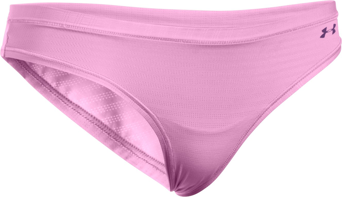 Women's UA Pure Stretch - Sheer Bikini, ICELANDIC ROSE, undefined