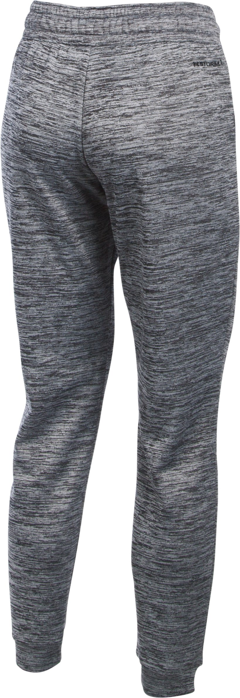 Women's  UA Storm Armour Fleece® Lightweight Joggers - Twist, Black , undefined