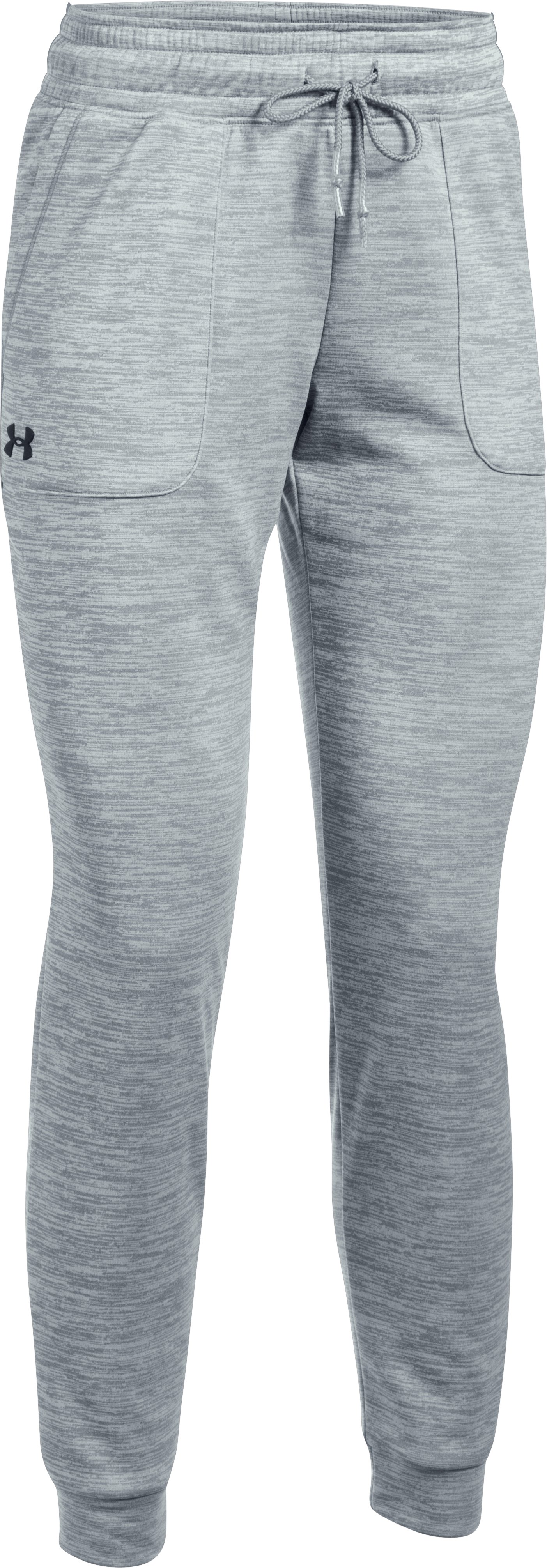 Women's UA Storm Armour® Fleece Lightweight Jogger - Twist, Steel, zoomed image