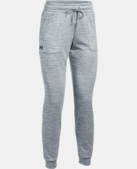 Women's UA Storm Armour® Fleece Lightweight Joggers - Twist  1 Color $54.99