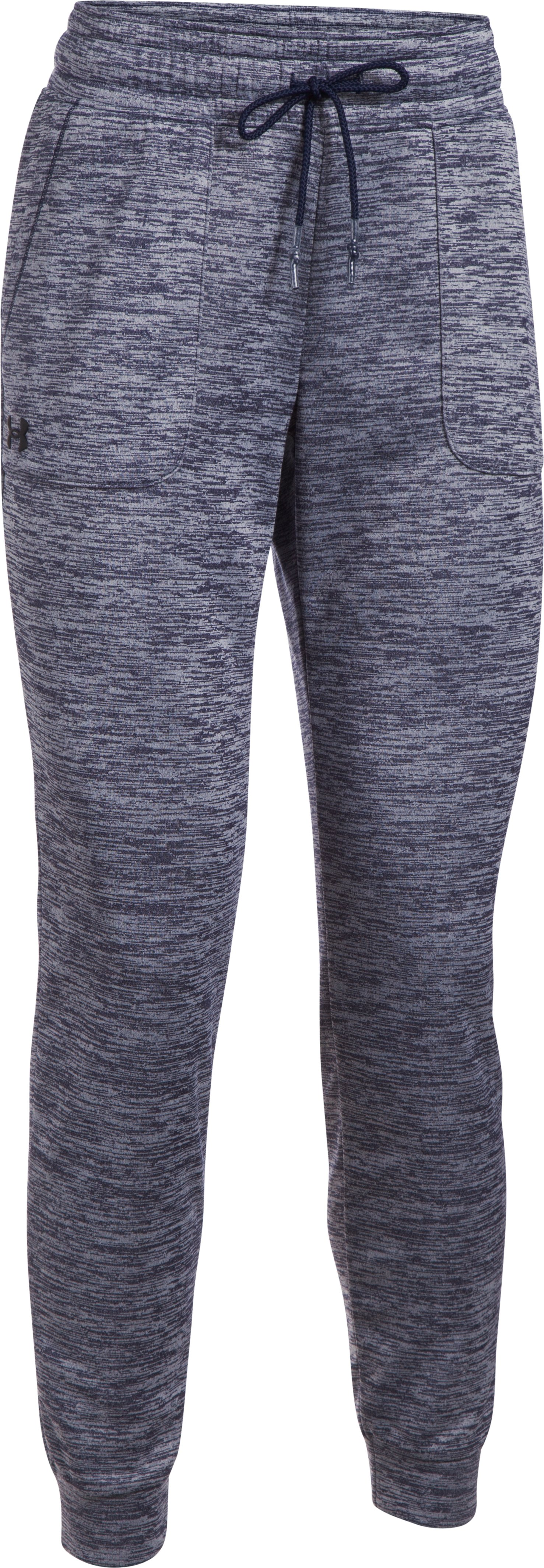 Women's  UA Storm Armour Fleece® Lightweight Joggers - Twist, Midnight Navy, undefined