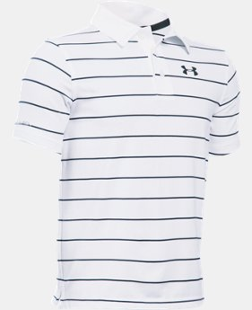 Boys' UA coldblack® Swing Plane Polo LIMITED TIME: FREE SHIPPING 1 Color $64.99