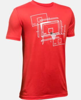 Boys' UA Basketball T-Shirt  2 Colors $14.99