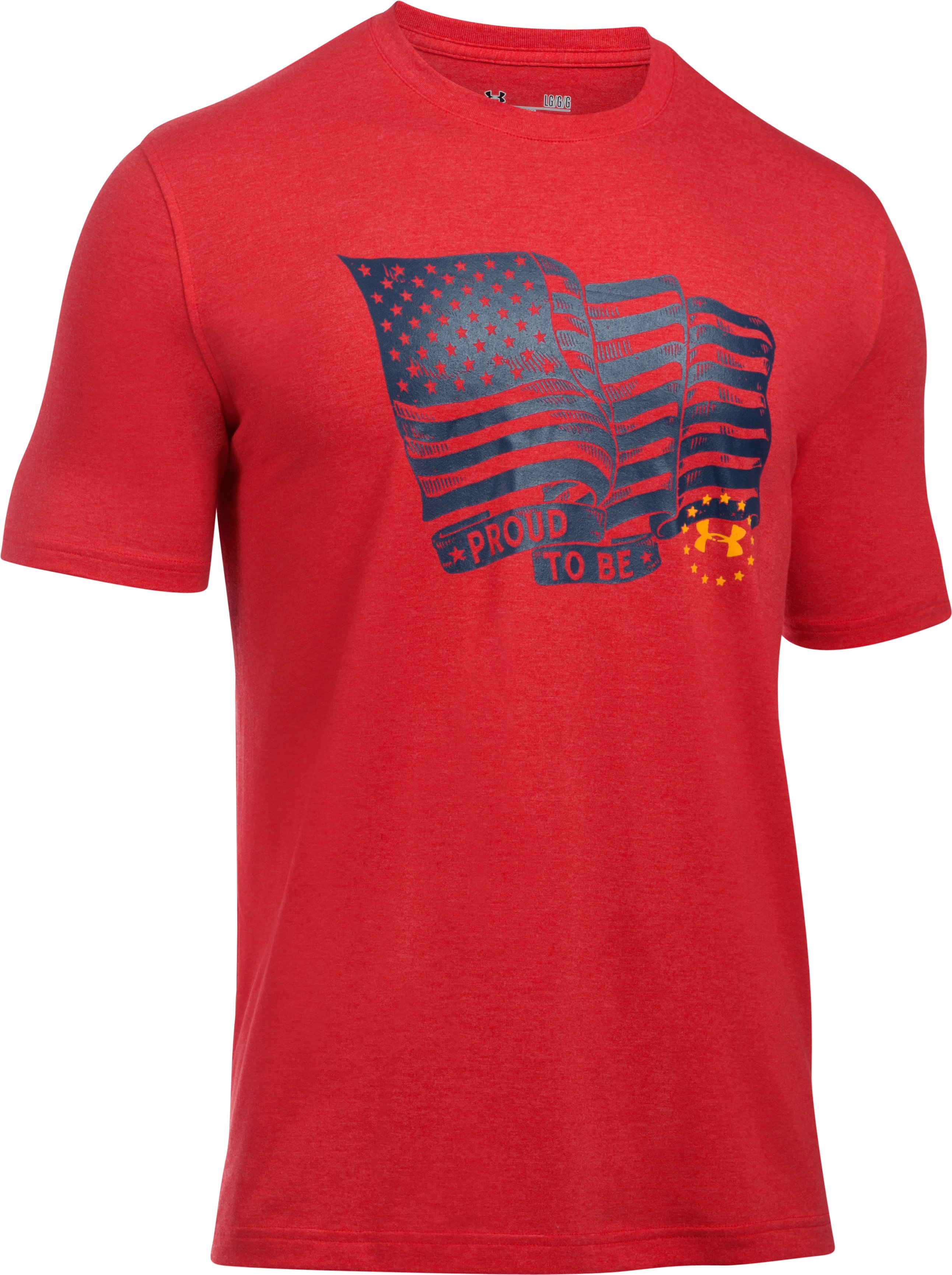 Men's UA Freedom Proud American T-Shirt, Red