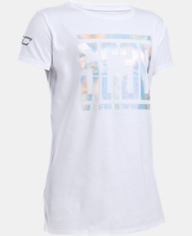 Girls' UA SC30 Short Sleeve T-Shirt LIMITED TIME: FREE SHIPPING  $27.99