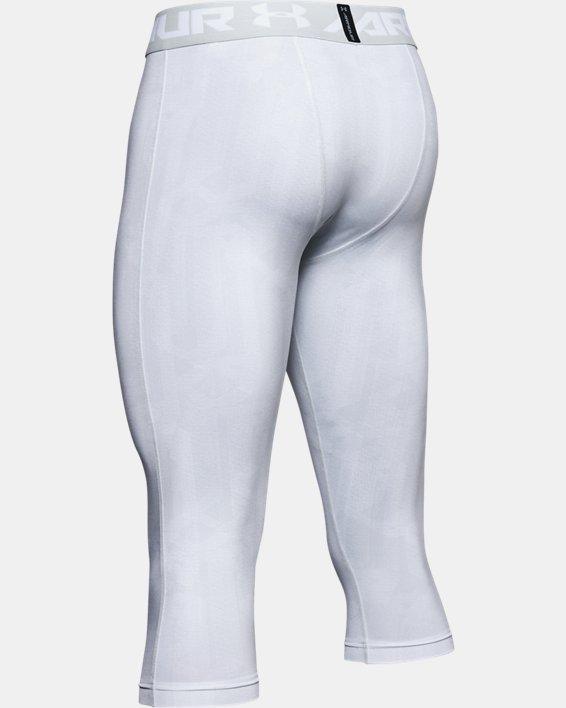 Men's HeatGear® Armour ¾ Leggings, Gray, pdpMainDesktop image number 5