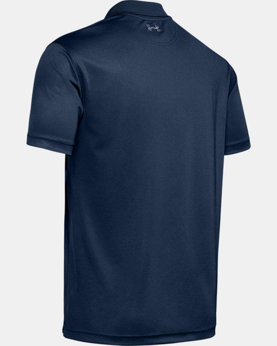 Men's UA Performance Polo, Navy, pdpMainDesktop image number 5
