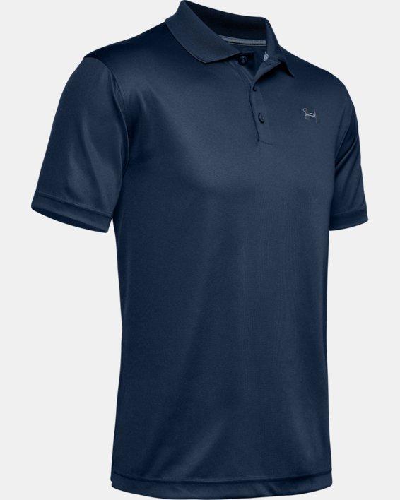 Men's UA Performance Polo, Navy, pdpMainDesktop image number 4