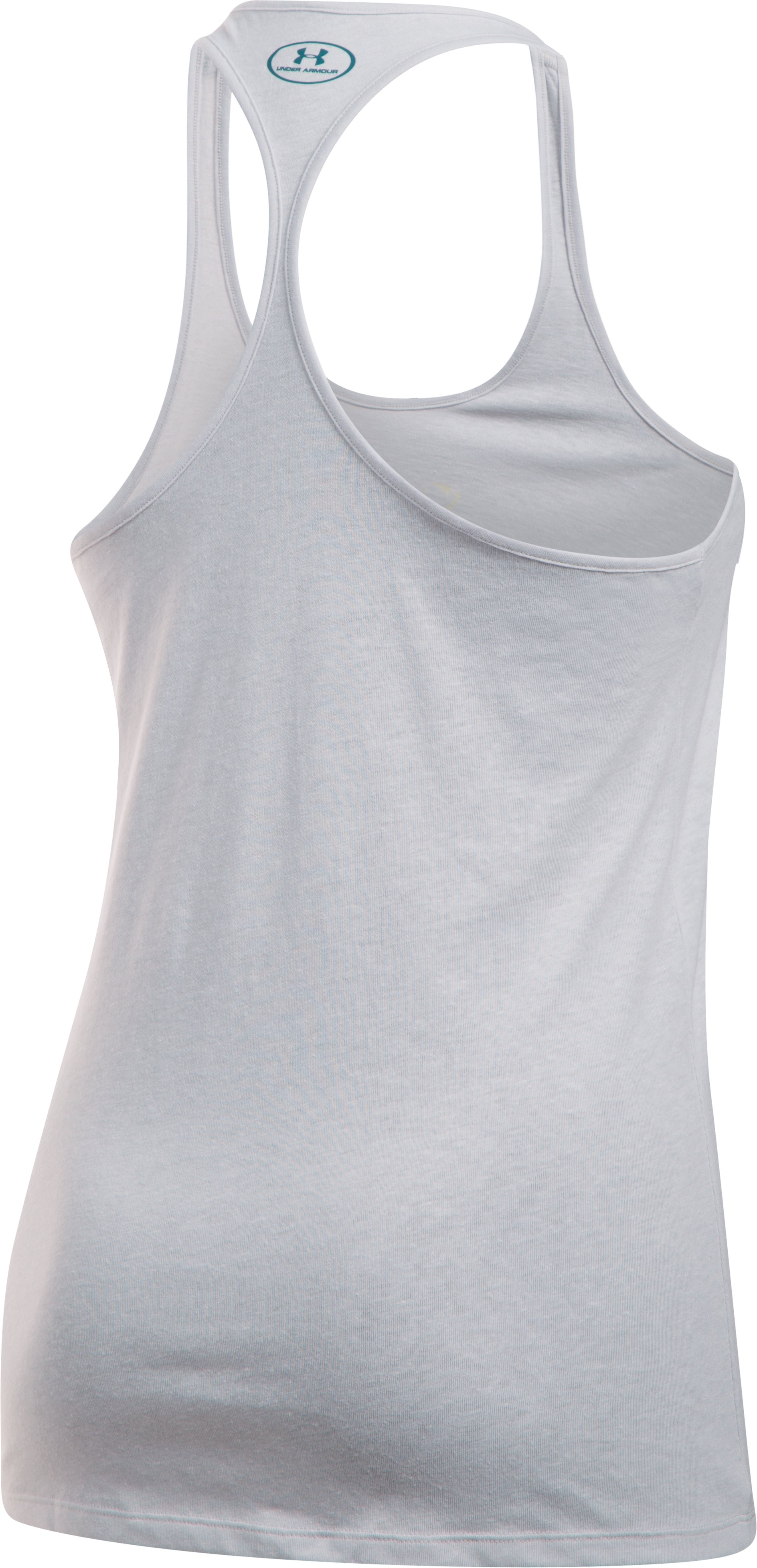Women's UA Graphic Tank, GLACIER GRAY,