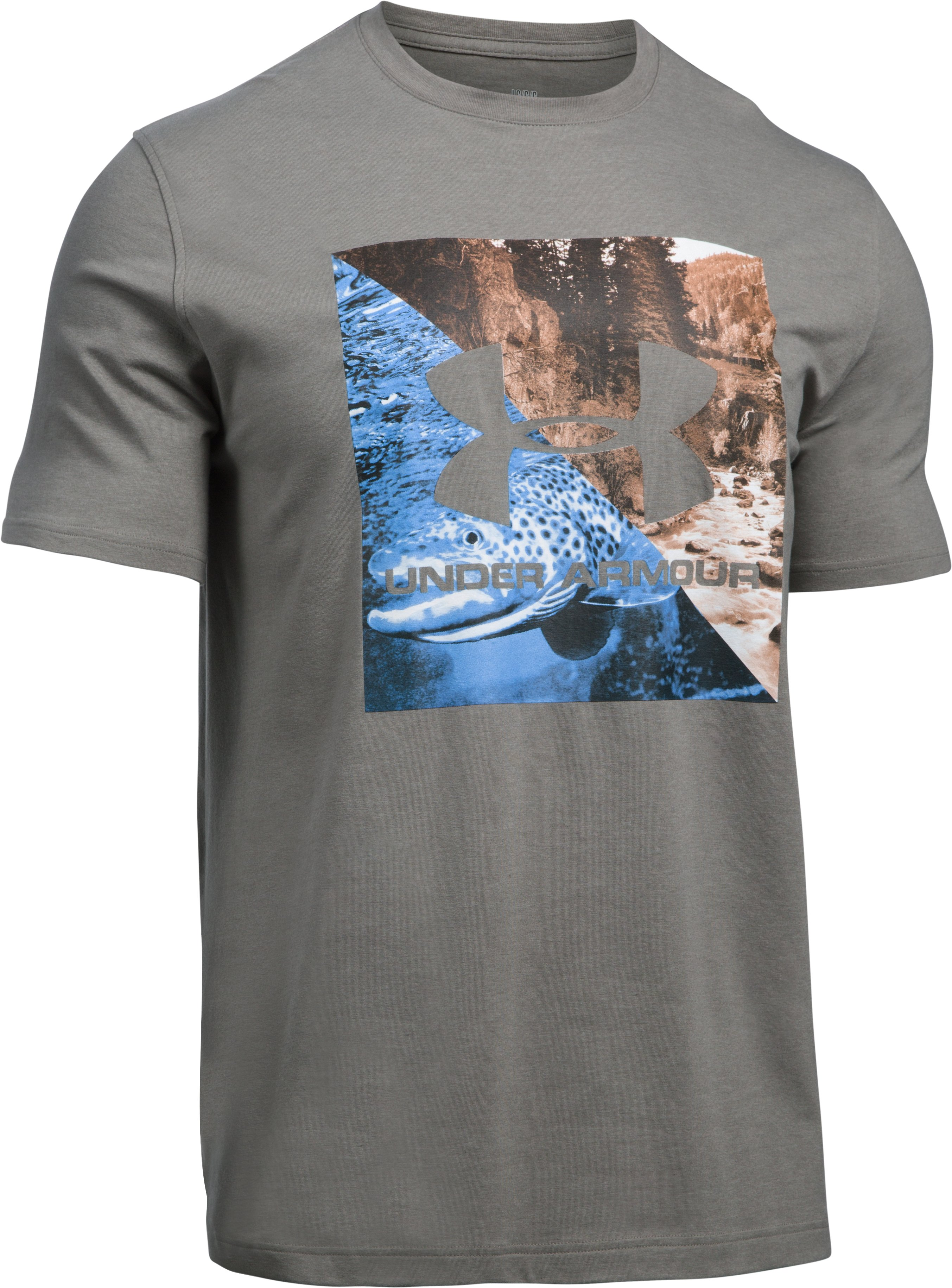 Men's UA Fresh Water PR T-Shirt, TAN STONE,