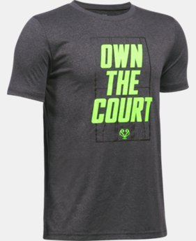 New Arrival Boys' UA Own The Court T-Shirt   $19.99