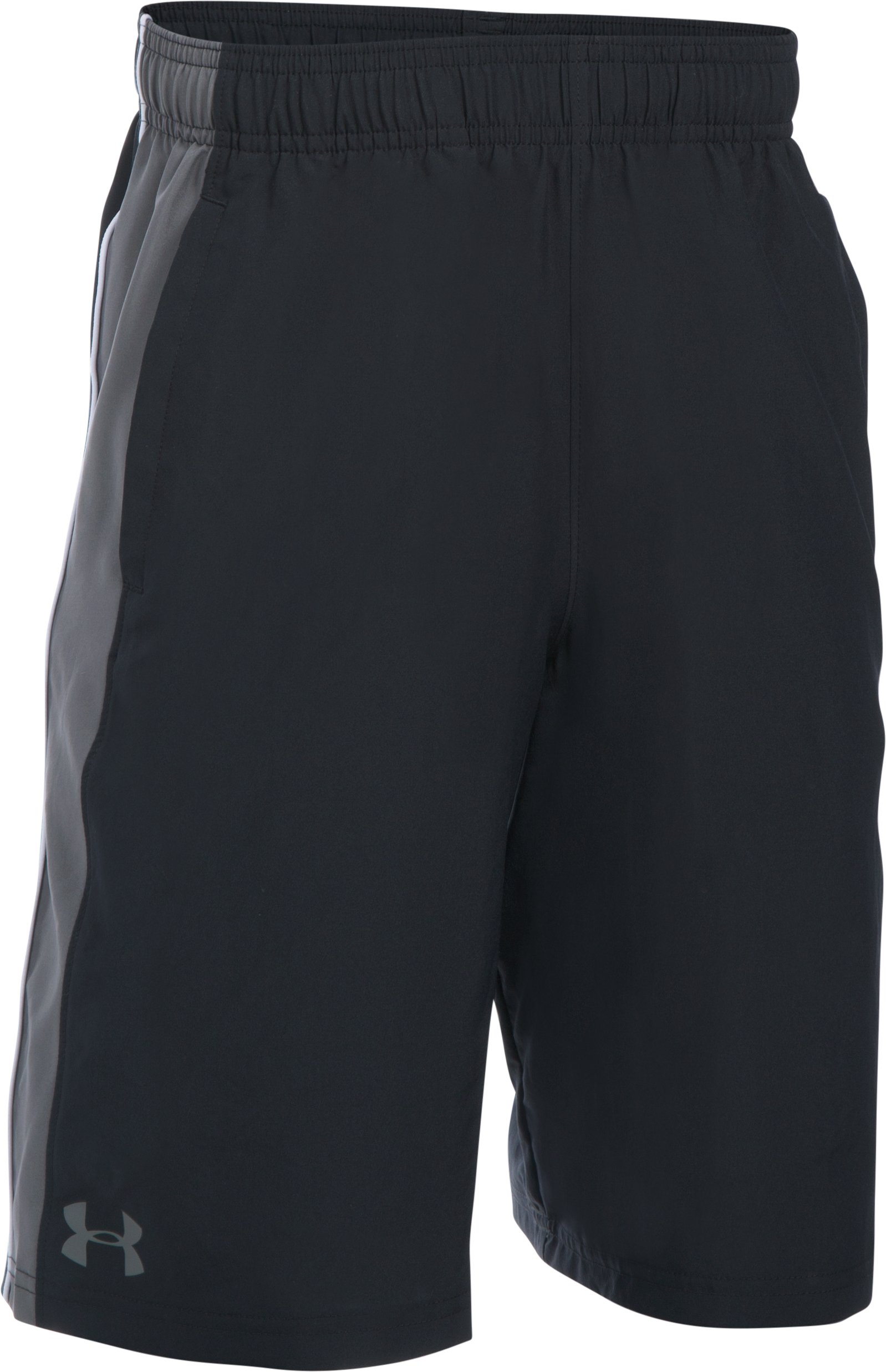 Boys' UA Impulse Woven Shorts, Black