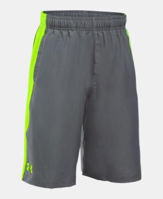 男童UA Impulse Woven短褲