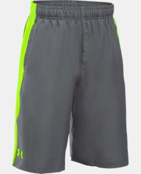 New Arrival Boys' UA Impulse Woven Shorts    $29.99
