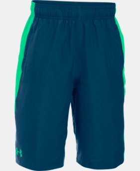 Boys' UA Impulse Woven Shorts  1 Color $12.74