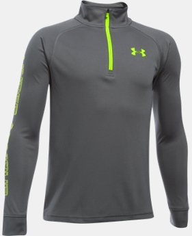 Boys' UA Tech™ Blocked ¼ Zip  1 Color $18.74