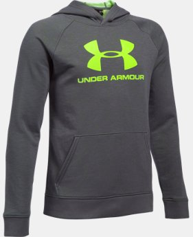New Arrival  Boys' UA Sportstyle Hoodie  1 Color $49.99