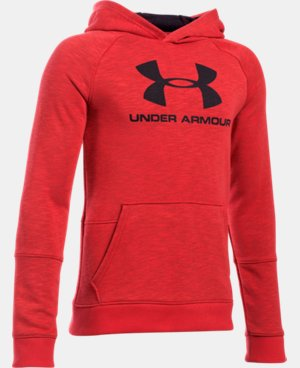 New Arrival  Boys' UA Sportstyle Hoodie  4 Colors $49.99