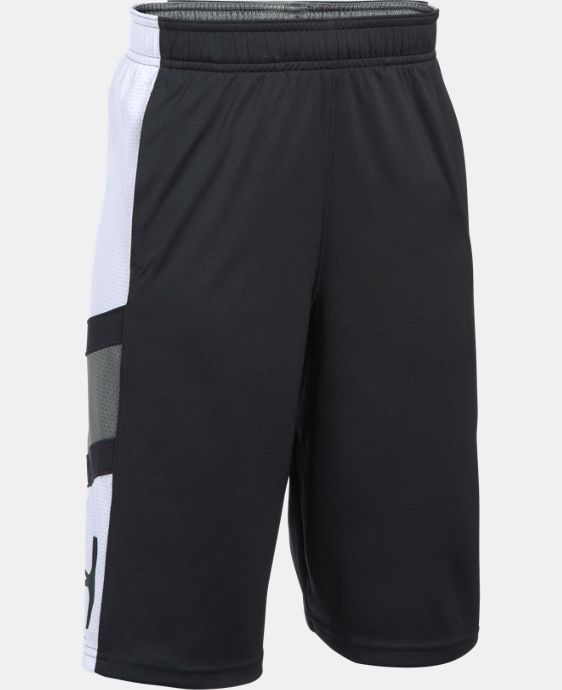 New Arrival  Boys' UA Step Back Shorts  1 Color $34.99