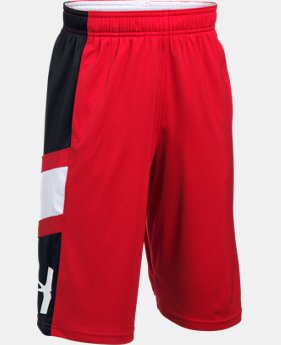 New Arrival Boys' UA Step Back Shorts  1 Color $29.99