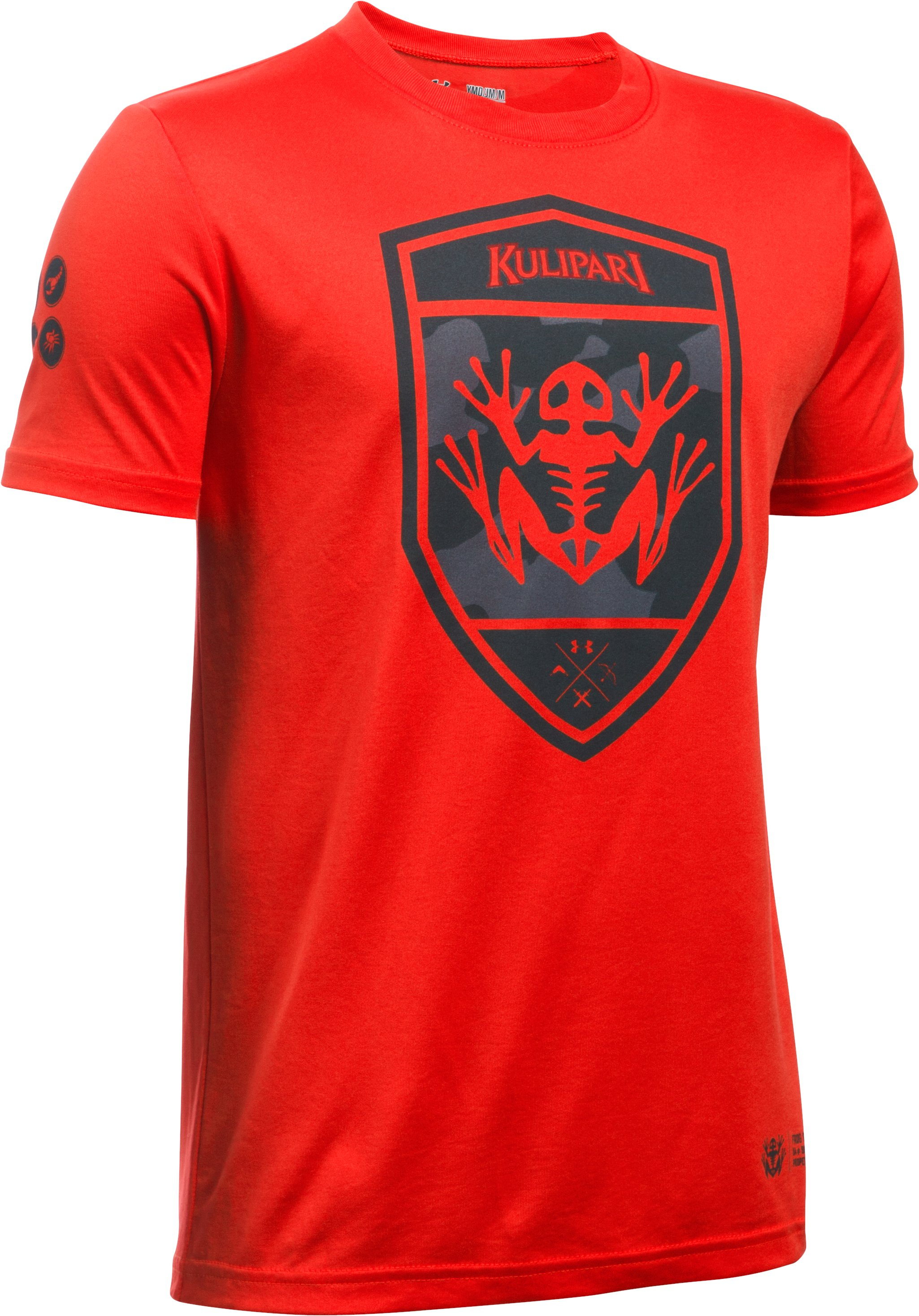 Boys' Kulipari Frog T-Shirt, RISK RED