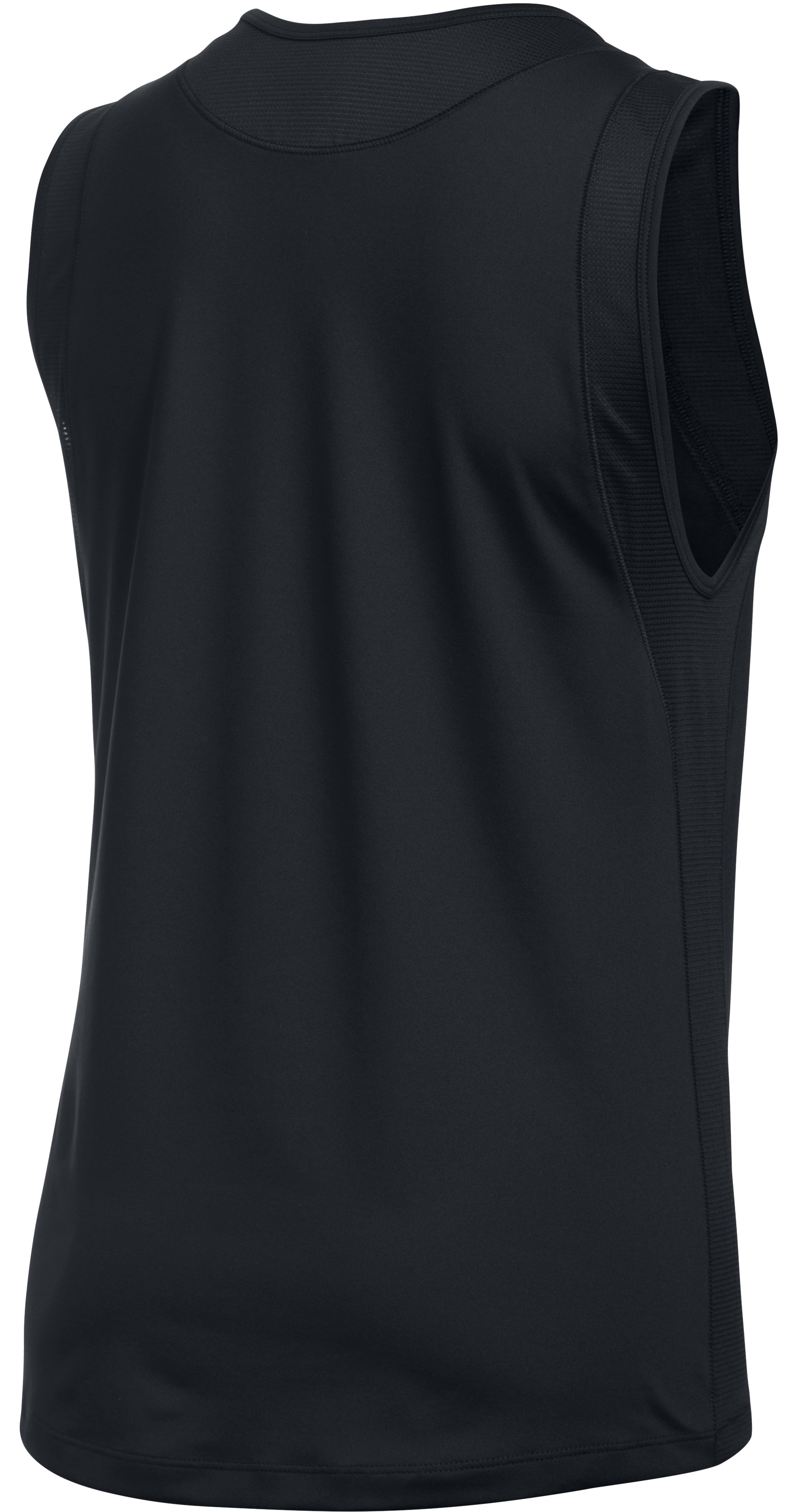 Women's UA Got Game Muscle Tank, Black ,