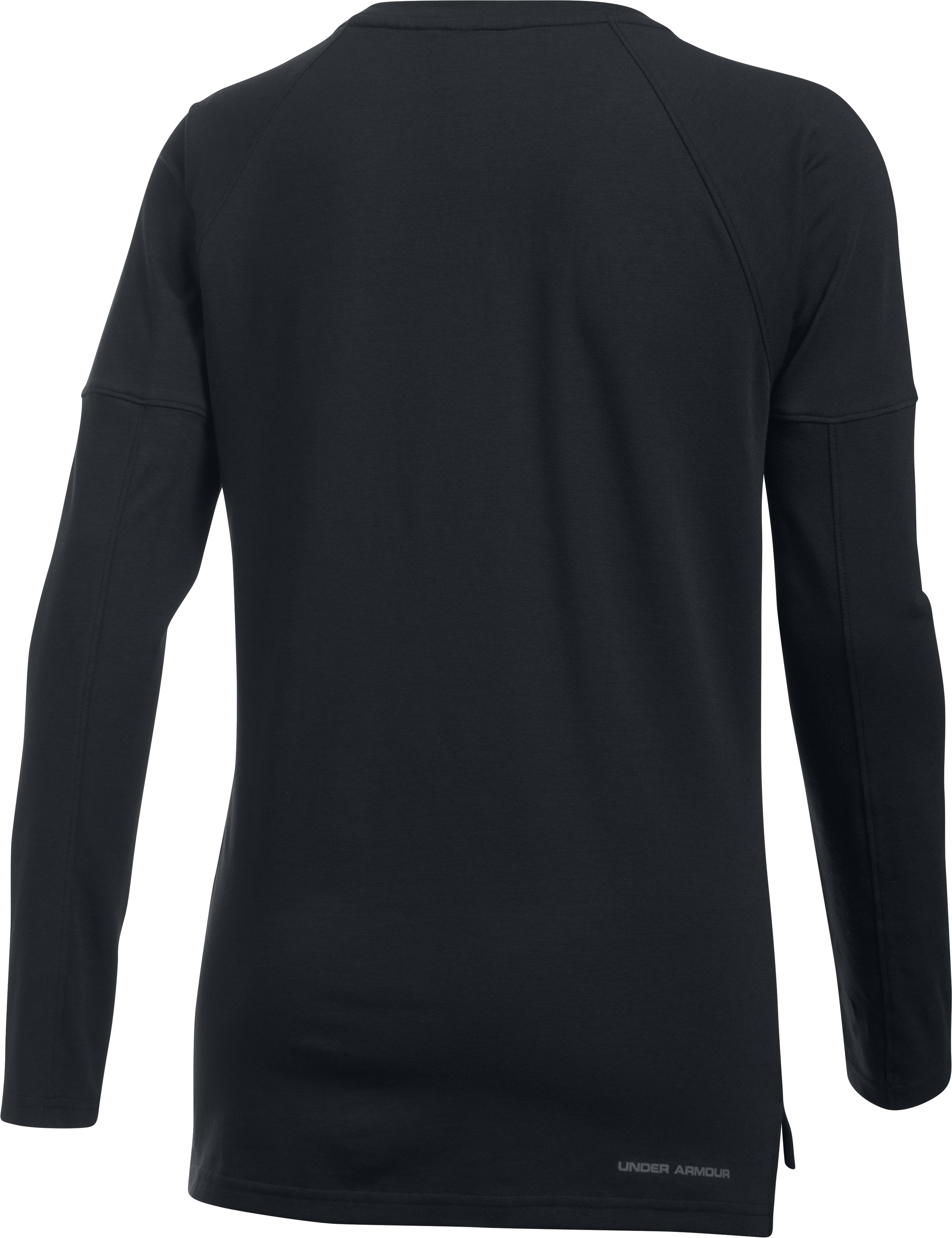 Women's UA Rest Day Long Sleeve, Black , undefined