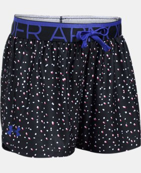 New Arrival Girls' UA Play Up Printed Shorts  1 Color $22.99