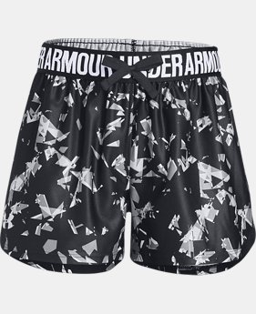 Girls' UA Play Up Printed Shorts  1  Color Available $24.99