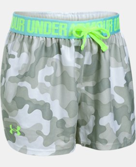 Girls' UA Play Up Printed Shorts  1 Color $13.99 to $17.24