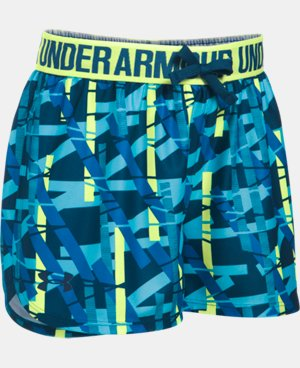 New Arrival Girls' UA Play Up Printed Shorts  2 Colors $22.99