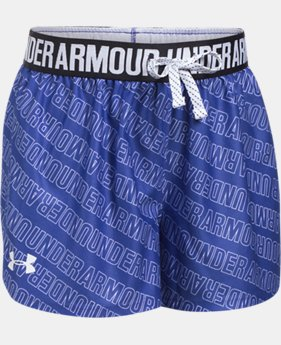 Girls' UA Play Up Printed Shorts  7 Colors $22.99
