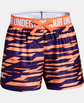 Girls' UA Play Up Printed Shorts   $18.74 to $24.99