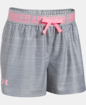 Girls' UA Play Up Printed Shorts  2 Colors $22.99