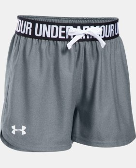 Best Seller Girls' UA Play Up Shorts  1  Color Available $19.99