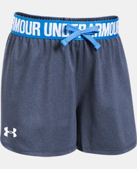 Best Seller Girls' UA Play Up Shorts  4 Colors $19.99