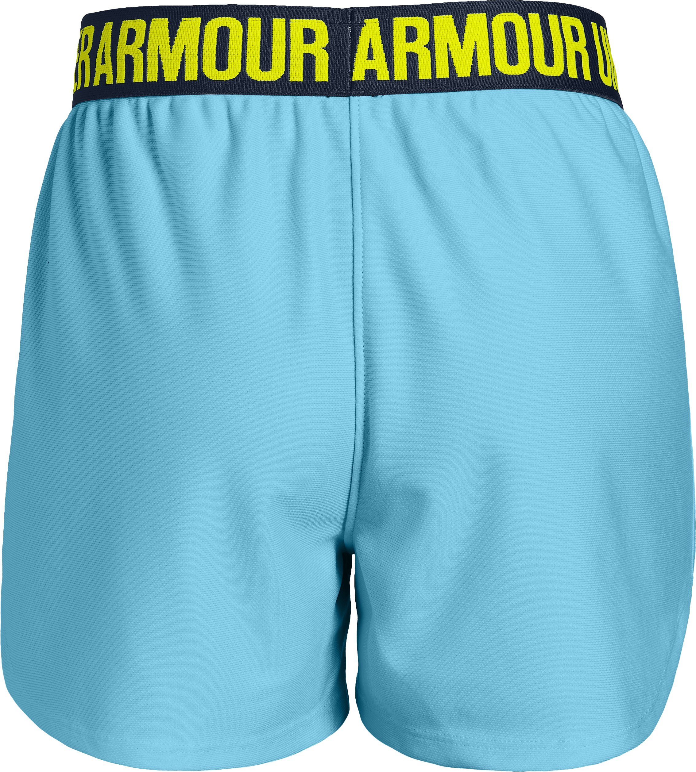 Girls' UA Play Up Shorts, Venetian Blue,