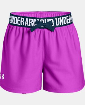 Best Seller Girls' UA Play Up Shorts  6  Colors Available $19.99