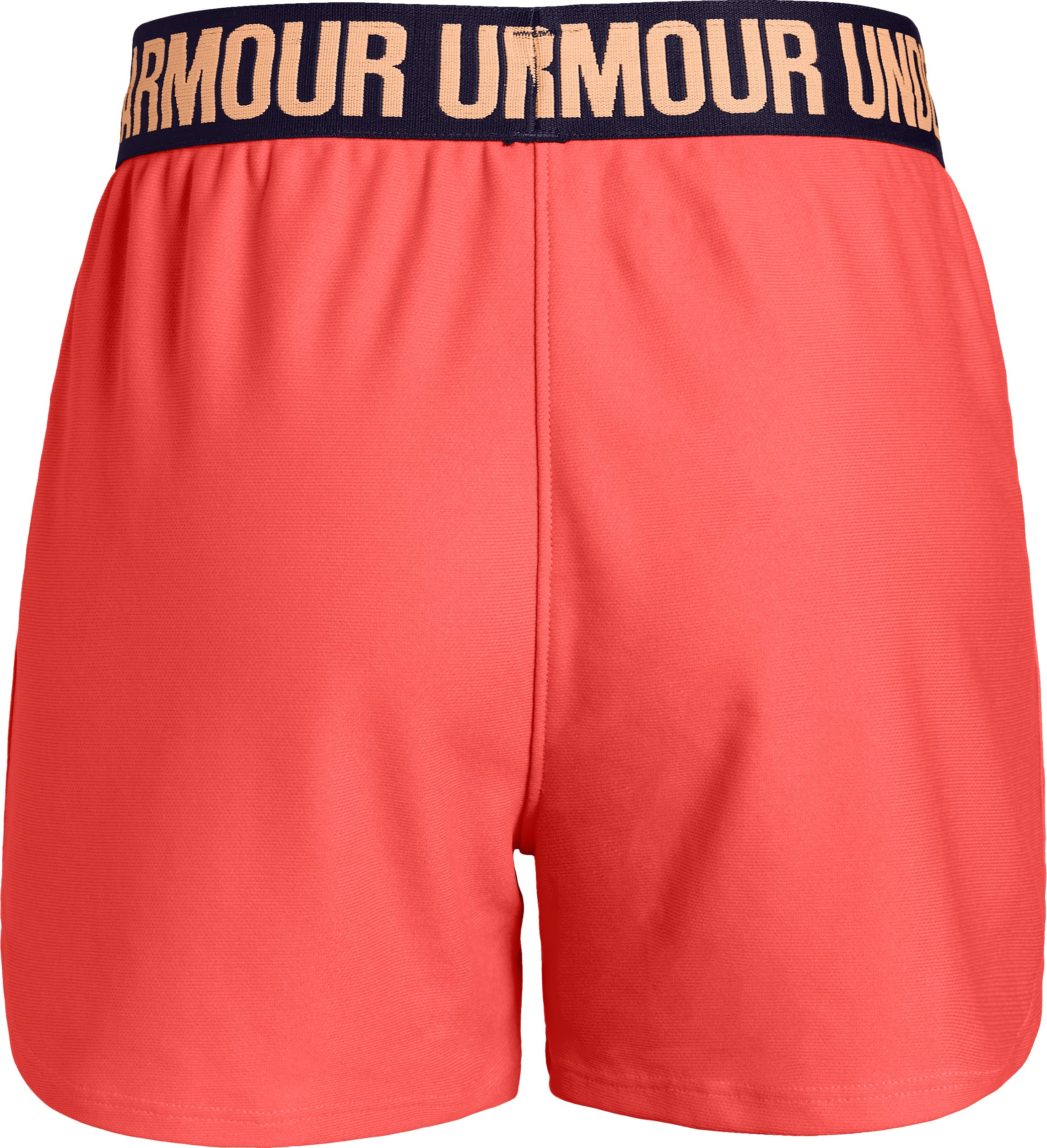 Girls' UA Play Up Shorts, AFTER BURN,