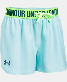 Best Seller Girls' UA Play Up Shorts  2 Colors $13.99 to $14.99