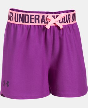 Best Seller Girls' UA Play Up Shorts  2 Colors $13.99 to $19.99