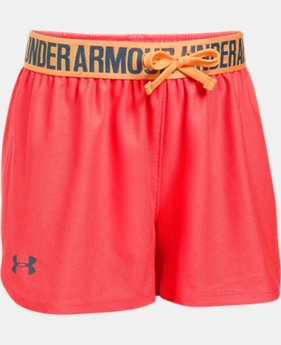 Best Seller Girls' UA Play Up Shorts   $19.99