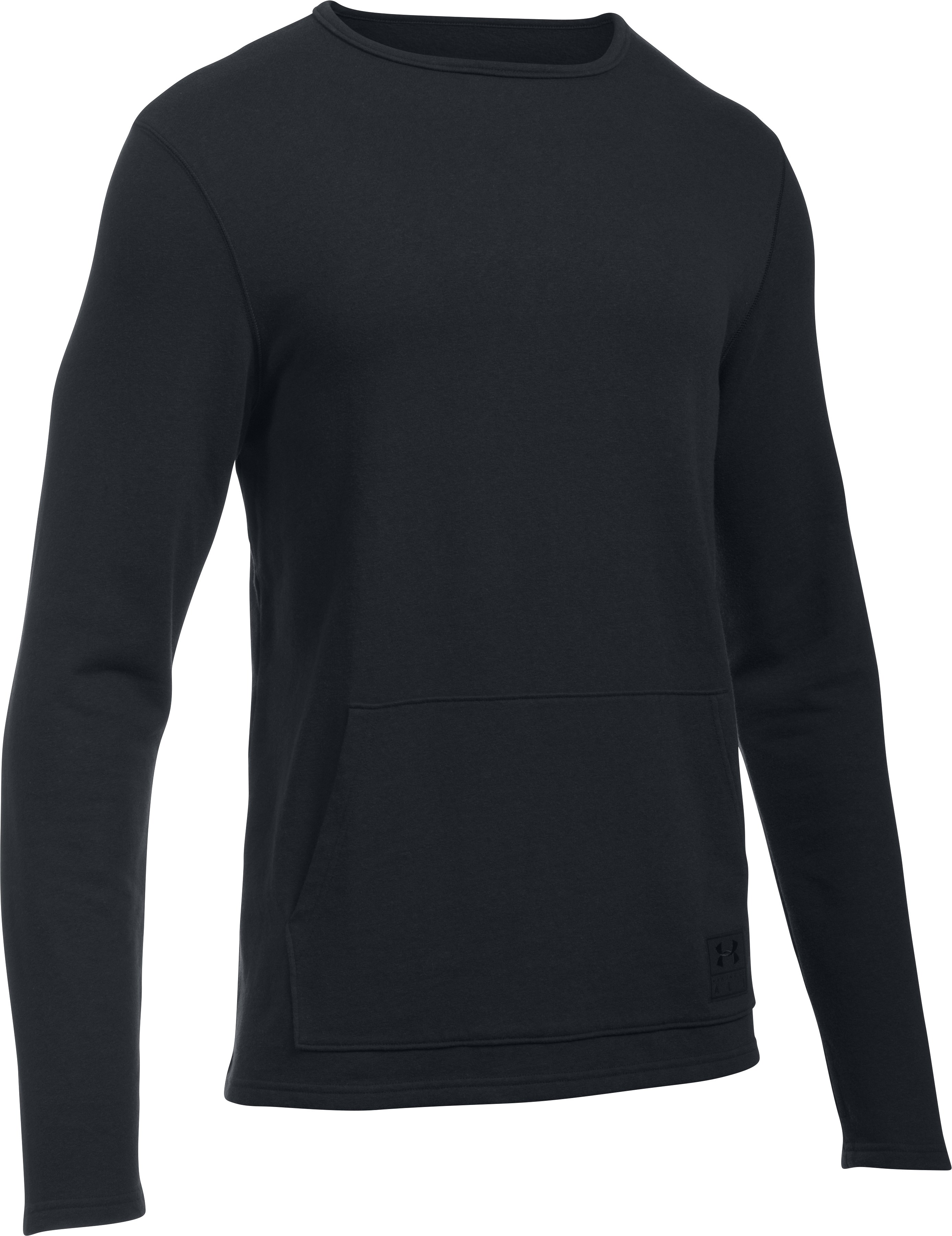 Men's UA x Ali UA Long Sleeve Crew, Black , undefined
