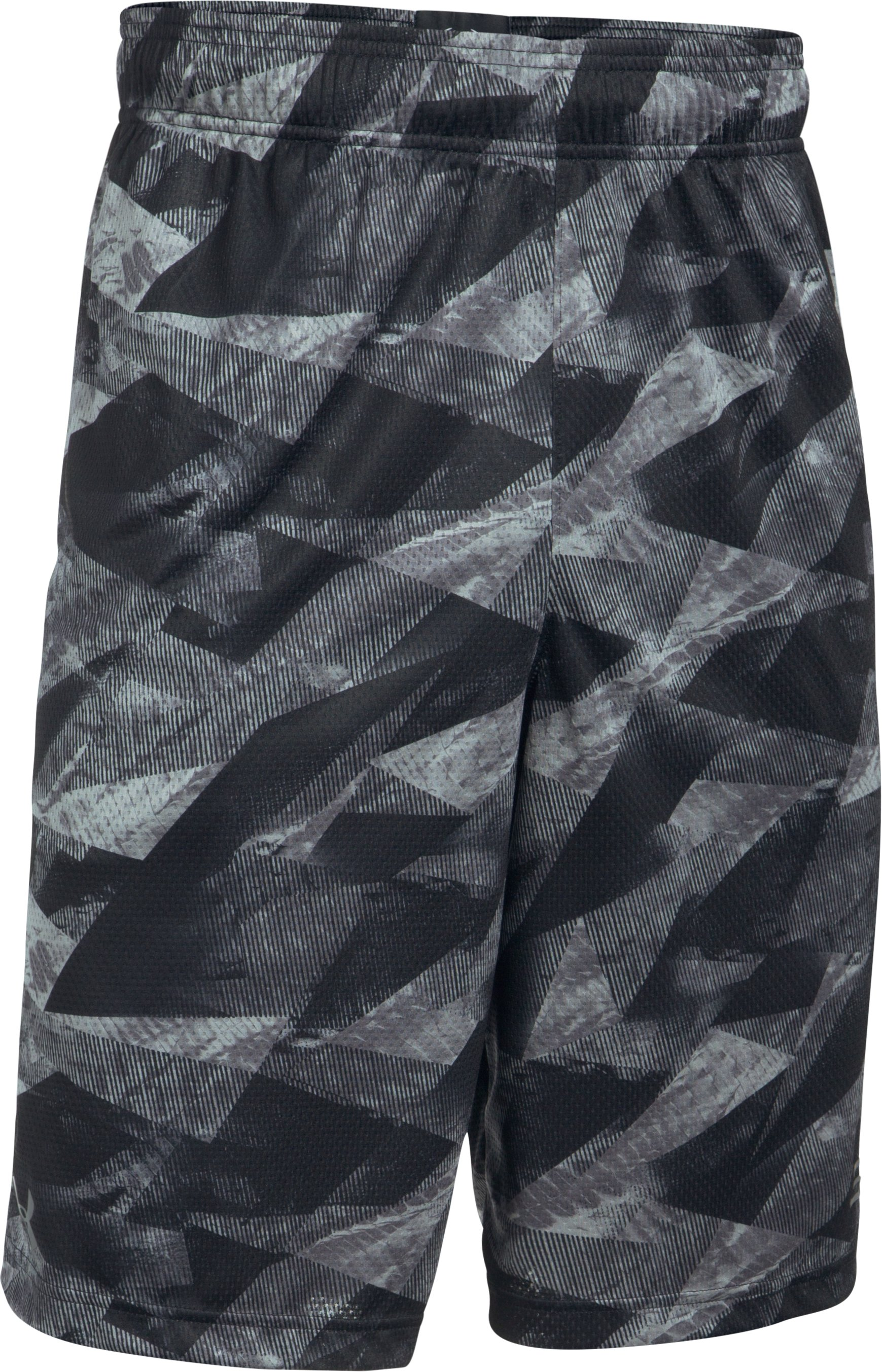 Men's SC30 Aero Wave Printed Shorts, Black , undefined