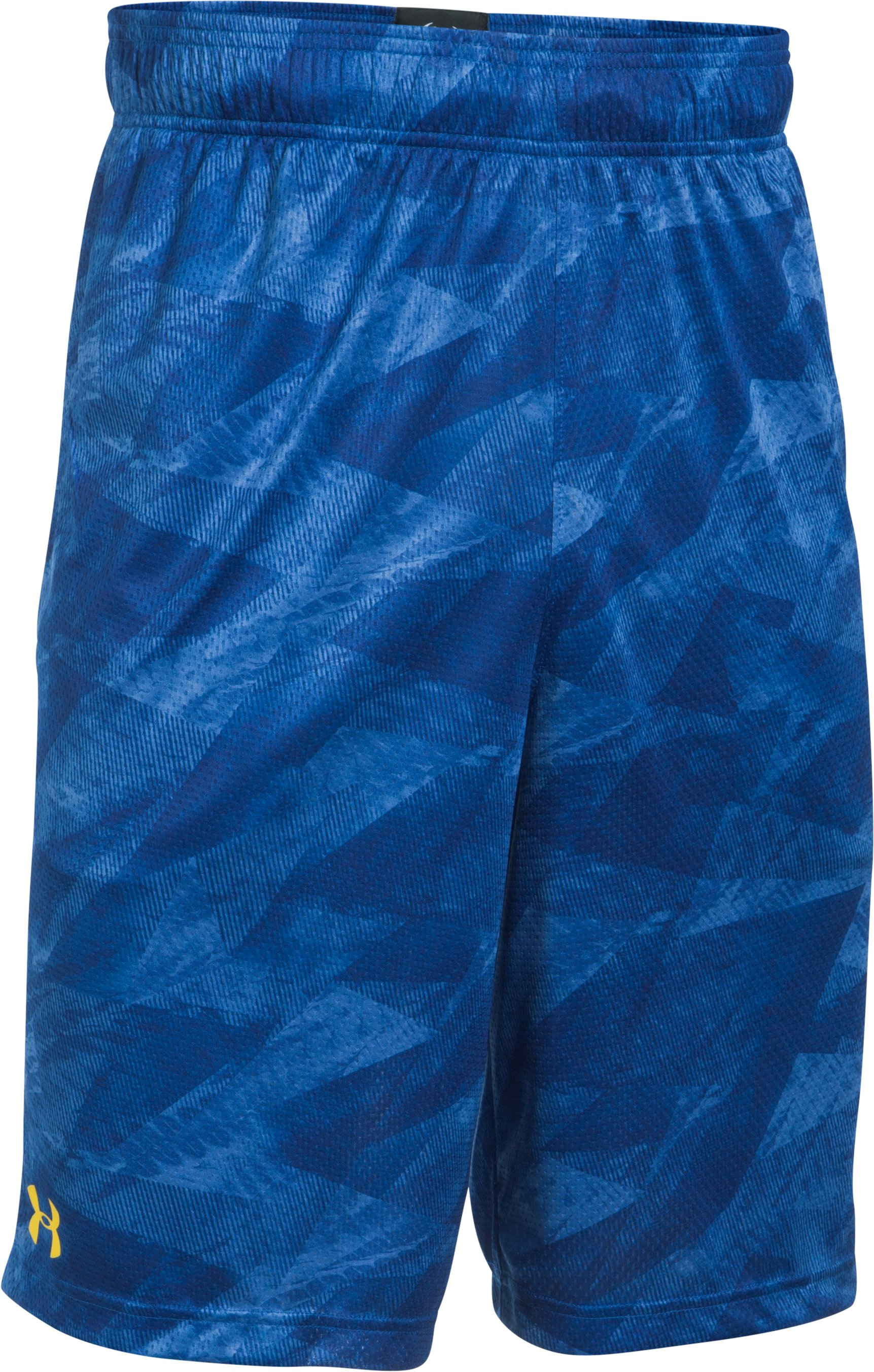 Men's SC30 Aero Wave Printed Shorts, Royal, undefined