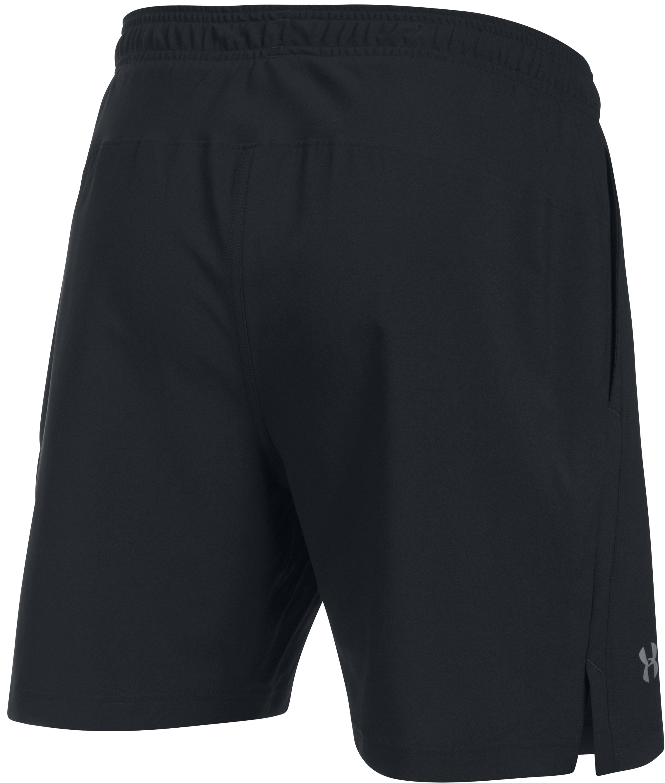 Men's UA Launch 2-in-1 Shorts, Black ,
